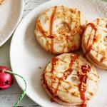Имбирное печенье с эгг-ногом и карамелью