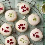 Творожное печенье со снежками