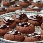 Миндальное печенье «Пьяная вишня в шоколаде»