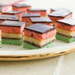 Миндальное пирожное «Итальянский Триколор»