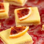 Пирожное Лимонная плитка с клементинами