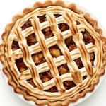 Миндально-яблочный пирог с меренгой