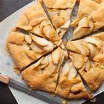 Пирог-галета с яблоками