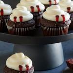 Вампирские капкейки «Красный бархат»