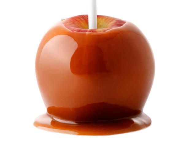 Фото Идеальные конфеты: яблоки в мягкой карамели