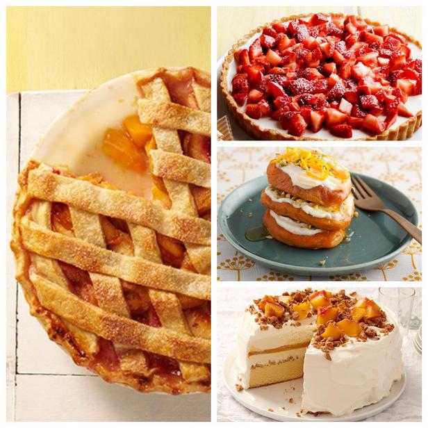 Фото Лучшие десерты из летних фруктов