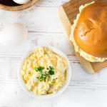 Классический американский яичный салат