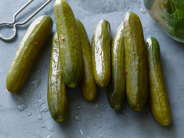 Фотография блюда - Солёные огурцы