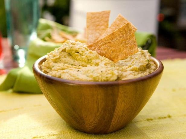 Фотография блюда - Хумус с перцем чили