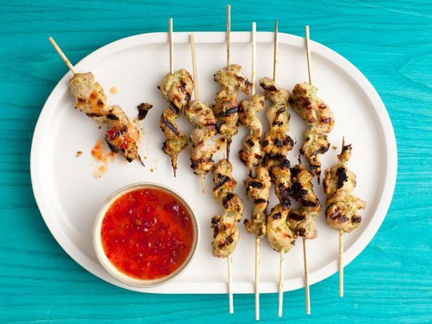 Фотография блюда - Жареные куриные бедрышки, маринованные по-азиатски