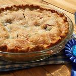 Яблочный пирог «Голубая лента»