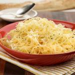 Запечённая тыква-спагетти