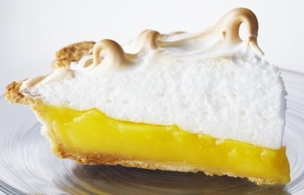 Фото Лимонный пай с запечённым безе