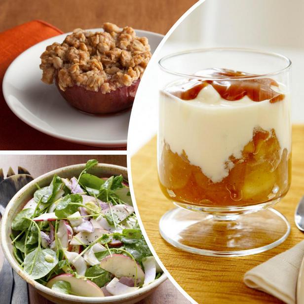 Фото Здоровые и полезные рецепты из яблок
