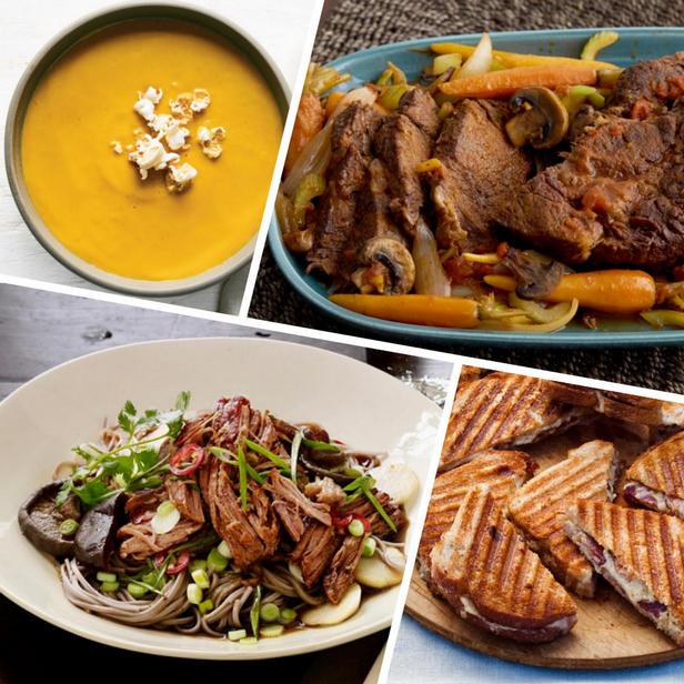 Фото Осенние блюда для приема гостей