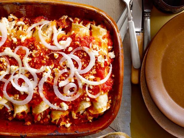 Фото блюда - Энчилада суизас с курицей