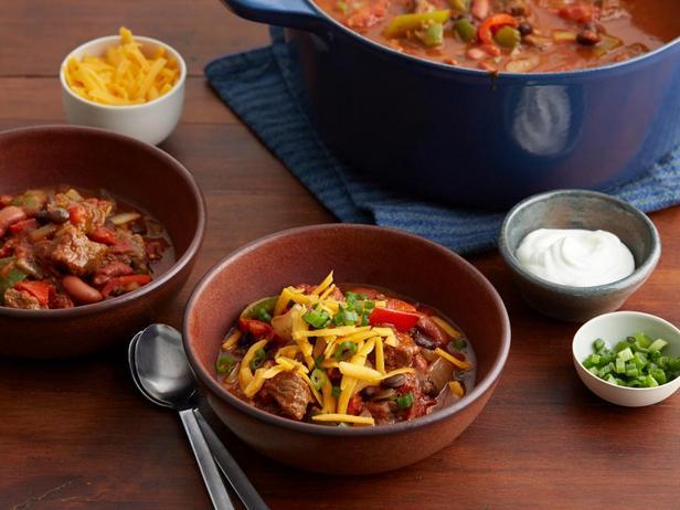 Фото блюда - Чили с говяжьей вырезкой