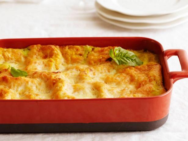 Фото блюда - Лазанья с мускатной тыквой