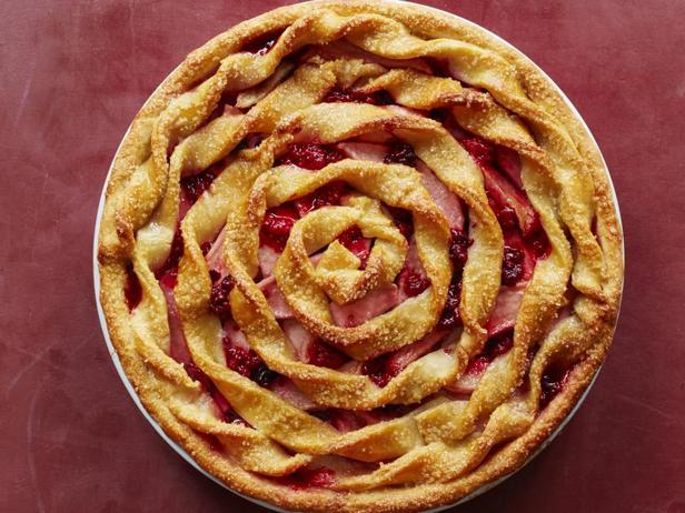 Фото блюда - Рифлёный яблочный пирог
