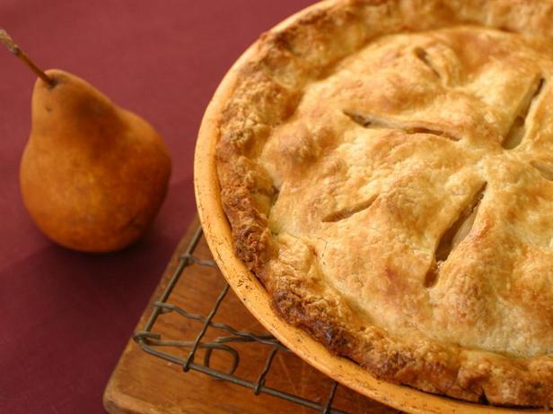 Фотография блюда - Яблочно-грушевый пирог