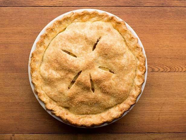 Фотография блюда - Классический Американский яблочный пирог