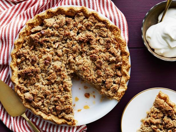 Фото блюда - Голландский яблочный пирог