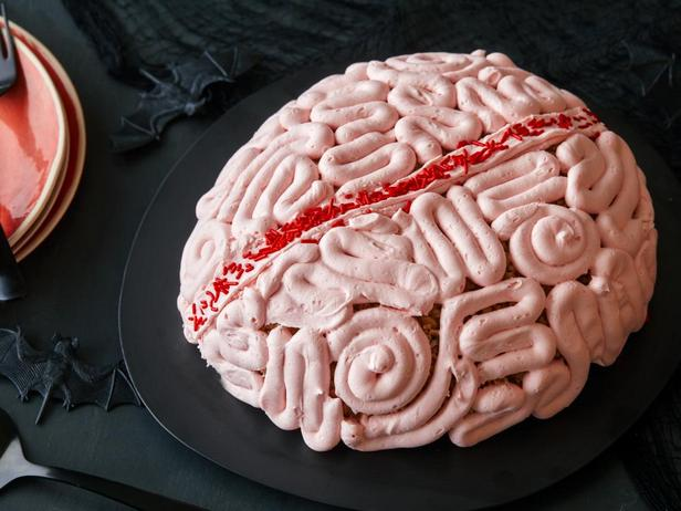 Фотография блюда - Мозги из воздушного риса с шоколадным муссом