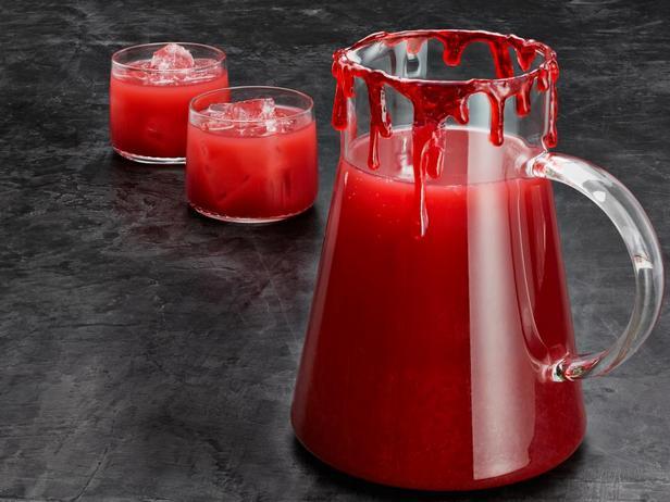 Фотография блюда - Напиток для вампиров «Кровавый апельсиновый пунш»