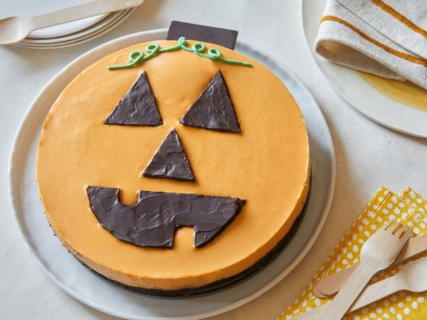 Фотография блюда - Чизкейк «Хэллоуин»