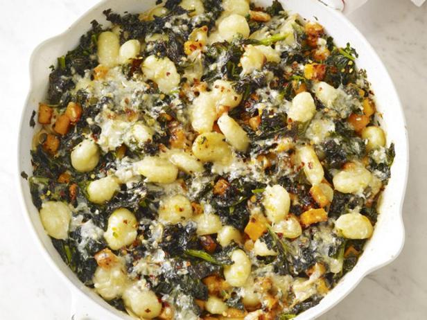 Фотография блюда - Ньокки с тыквой и капустой