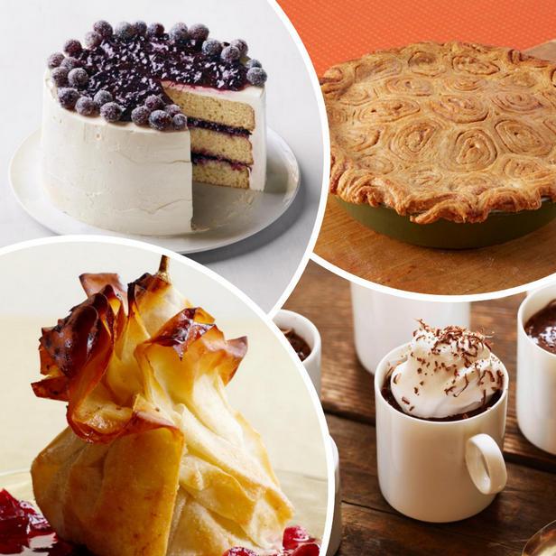 Фото Осенние десерты для званого ужина