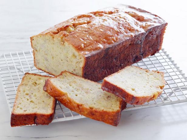 Фотография блюда - Банановый хлеб в стиле Фостер