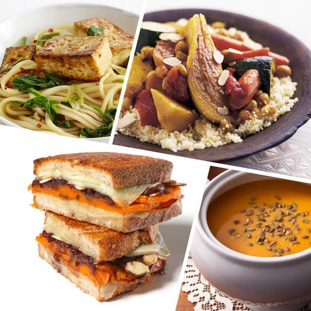 Фото Осенние вегетарианские рецепты