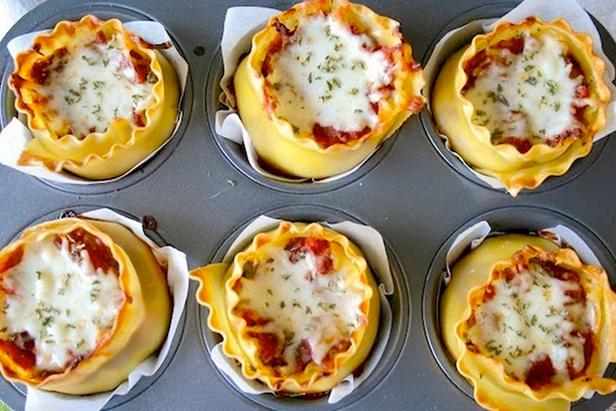 Фото блюда - Овощная лазанья из кабачков, спаржи и шпината