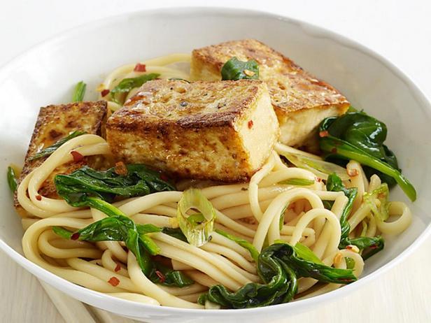Фото блюда - Азиатская лапша с тофу