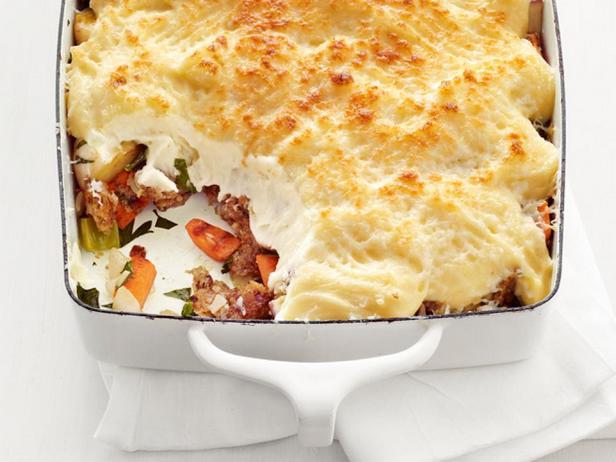 Фото блюда - Вегетарианский «Пастуший пирог»