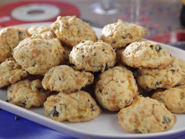 Фото блюда - Сырное печенье с фаршем