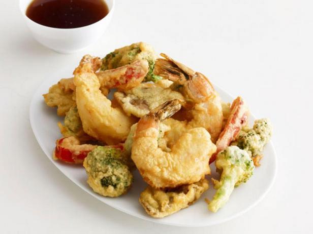 Фото блюда - Креветки темпура