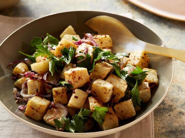 Фотография блюда - Запеченный корнеплод сельдерея