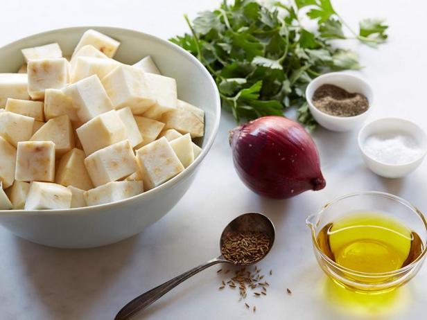 Ингредиенты к рецепту - Запеченный корнеплод сельдерея