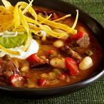 Чили-суп с говядиной фахитас