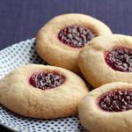 Домашнее песочное печенье с джемом
