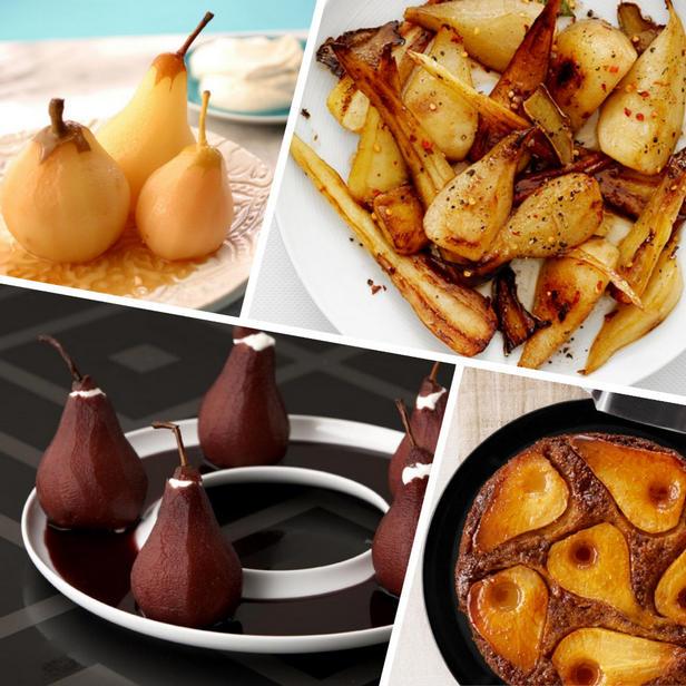Фото Рецепты блюд с сезонными грушами