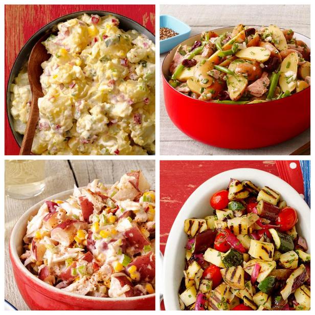 Фото 50 рецептов картофельного салата