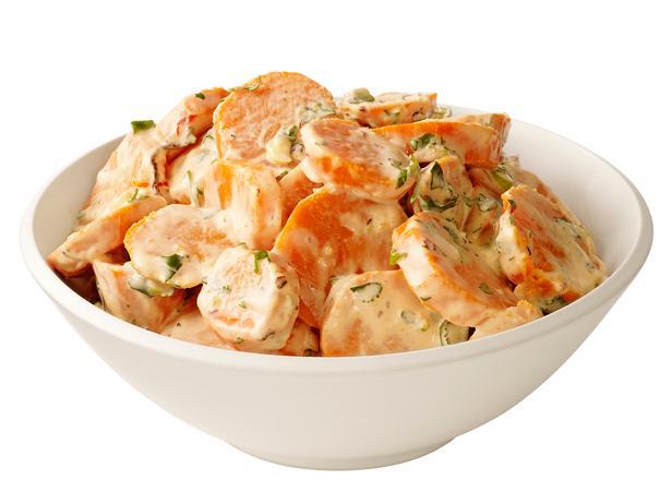 43. Картофельный салат с бататом и чипотле