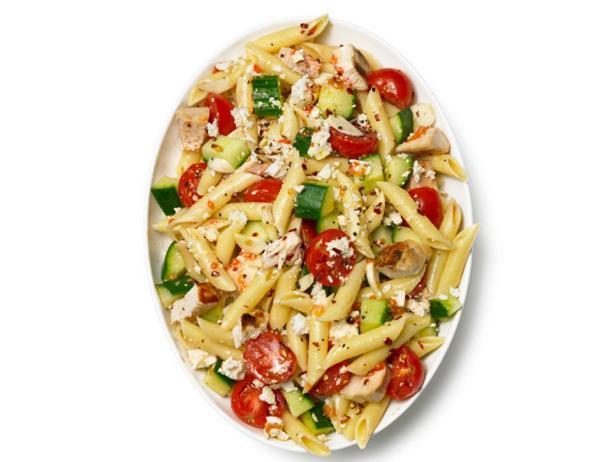 Фотография блюда - Макаронный салат: конструктор салата по ингредиентам