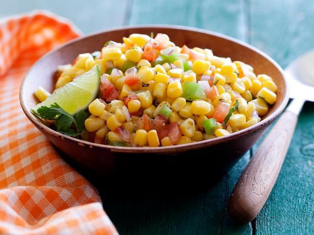 Фотография блюда - Летний кукурузный салат