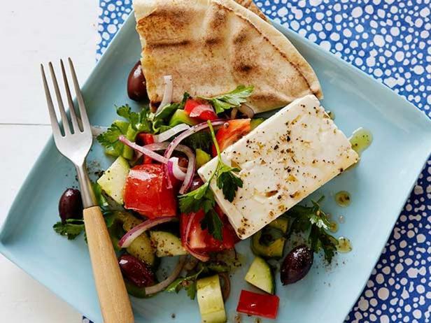 Фотография блюда - Тапас из греческого салата Хориатики