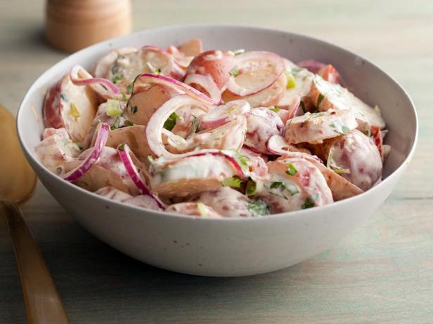 Фотография блюда - Картофельный салат с перцем чипотле