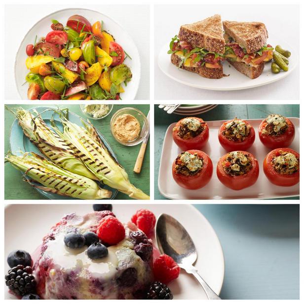 Фото Лучшие блюда из летних овощей и фруктов